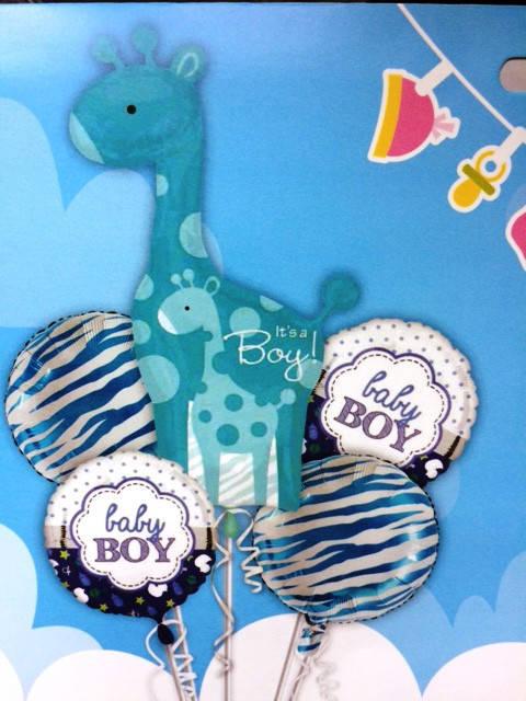 Набор фольгированных шаров на день рождение