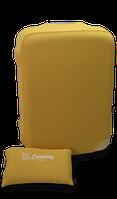 Чехол на чемодан из неопрена желтый М