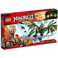 Конструктор «LEGO» (70593) Зеленый Дракон