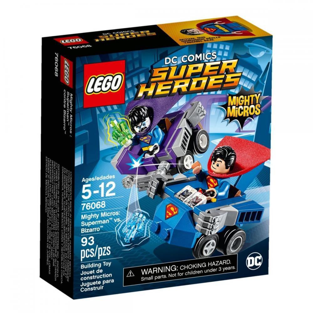 Конструктор «LEGO» (76068) Супермен против Бизарро
