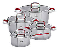 Набор посуды Krauff Moderne Rot 8 предметов артикул 26-188-101