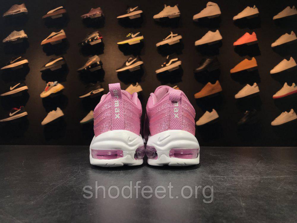 7cadbb0f Женские кроссовки Nike Air Max 97 PRM Swarovski Pink , цена 1 549 грн.,  купить в Харькове — Prom.ua (ID#654792324)