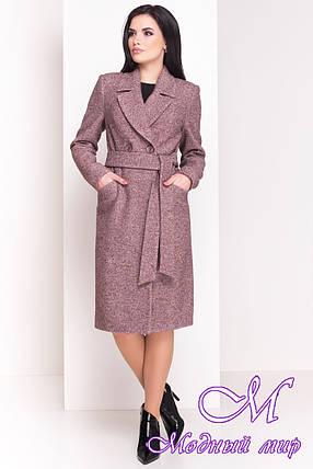 """Шерстяное женское демисезонное пальто (р. XS, S, M, L, XL) арт. """"Джулс 4450"""" - 21444, фото 2"""