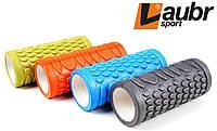 Массажный валик для фитнеса и йоги Laubr sport 33 см