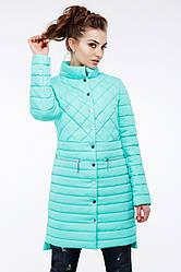 Женская весенняя длинная куртка Теона  Nui Very (Нью вери)