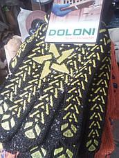 Рукавички робочі Долони із зіркою чорні., фото 3