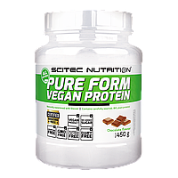 Протеин Scitec Nutrition Pure Form Vegan Protein (450 g)