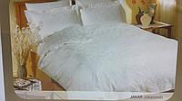 TAC жаккардовый комплект постельного белья  Jakaranda бел.