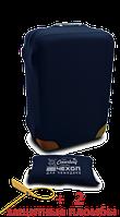 Чехол на чемодан из неопрена синий L