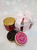 Набор с конфитюром и чаем «Цветение вишни», фото 1