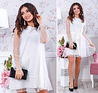 Платье нарядное с сеткой в расцветках 23971