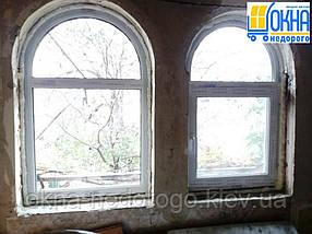 Арочные окна пластиковые, фото 2