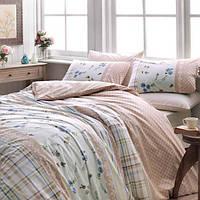 TAC Arlene brown cемейный комплект постельного белья