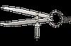 Циркуль 125мм с направляющей TOPEX (31С701)