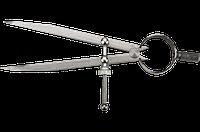 Циркуль 125мм с направляющей TOPEX (31С701), фото 1