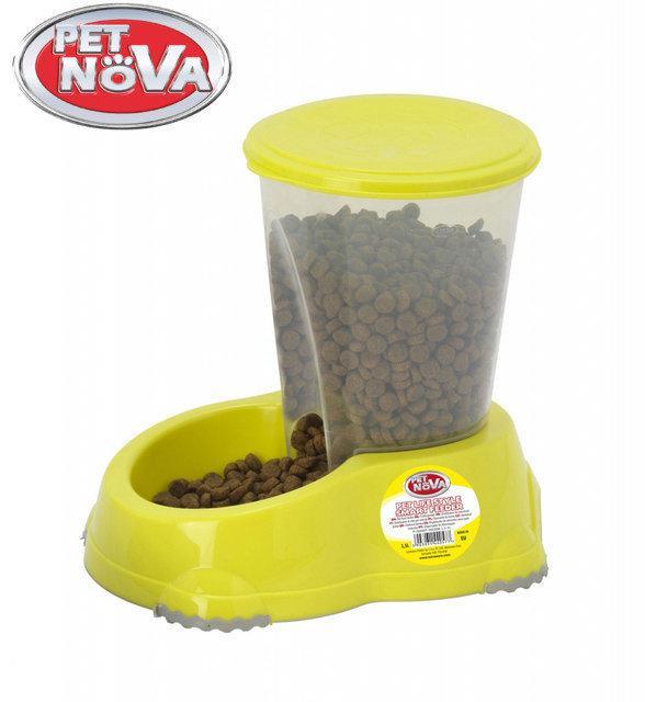 Кормушка Pet Nova 1.5л P-SMART-FEEDER-1,5-YL Желтая