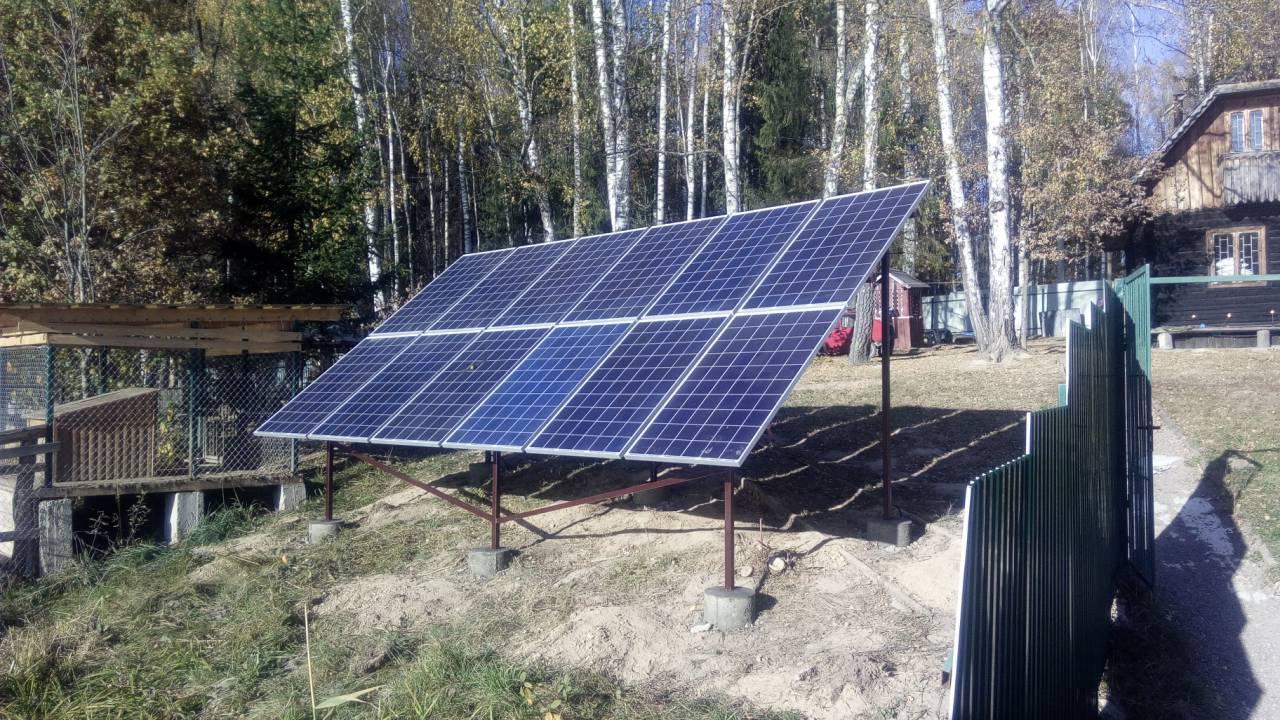 Автономная солнечная электростанция 3.24 кВт