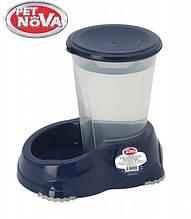Поилка Pet Nova 1.5л P-SMART-H2O-1,5-BL Синяя