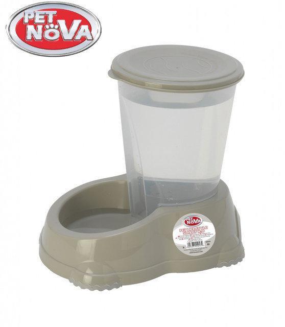 Поилка Pet Nova 1.5л P-SMART-H2O-1,5-GR Серая
