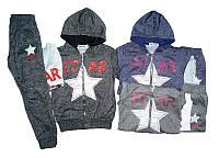 Трикотажный костюм - тройка для девочек Taurus оптом, 98-128 pp.