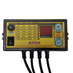 Автоматика до твердопаливного котла Atos