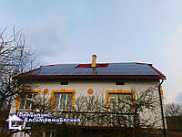 Сонячна електростанція 10 кВт с. Крупське