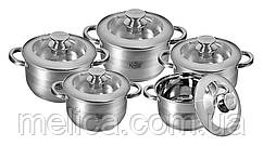 Набор посуды Krauff Strich 10 предметов артикул 26-242-006