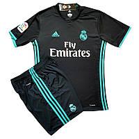 Футбольная форма детская Реал Мадрид Роналдо черная сезон 2017-18