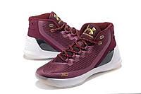 Баскетбольные мужские кроссовки Under Armour Curry 3 Magi Christmas реплика