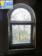 Арочные окна пластиковые, фото 3