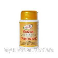 Трикунтак - камни в почках, цистит, отеки, задержка мочи, уретрит, инфекции мочевыводящих путей, Trikuntak