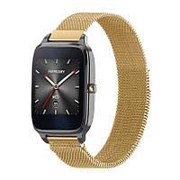 Миланский сетчатый ремешок для часов Asus ZenWatch 2  (WI501Q) - Gold