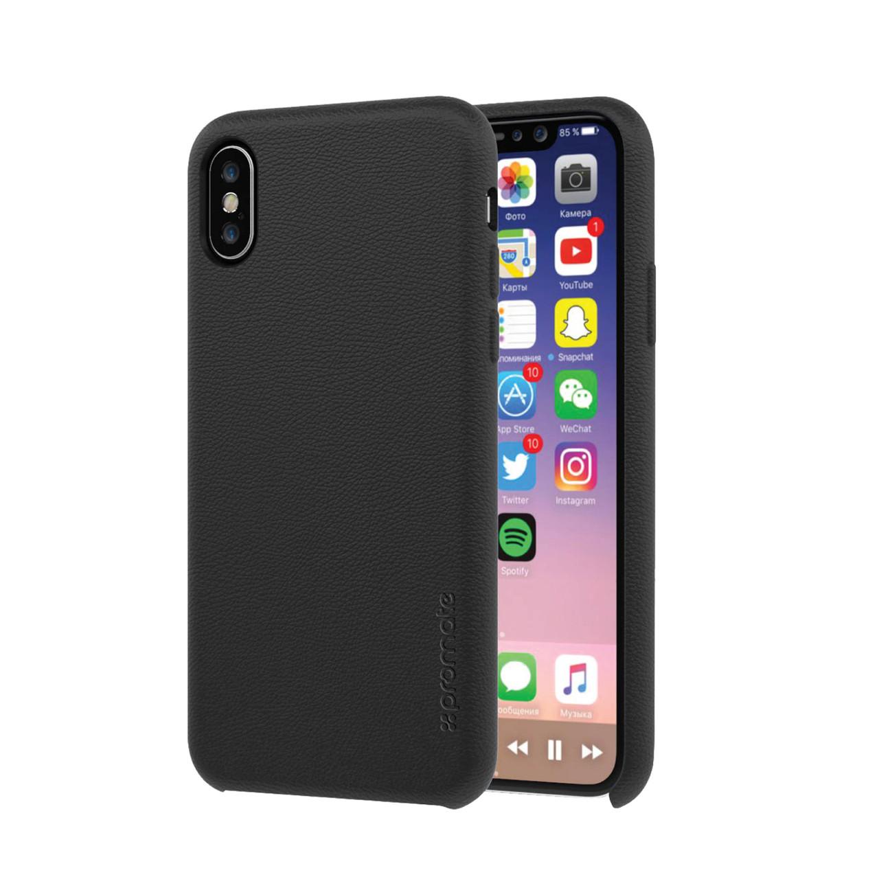 Чехол для Iphone Promate Coat-X Black