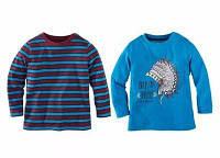 Кофта, реглан синяя полосатая Lupilu 110/116