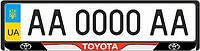 Рамка под номерной знак Toyota