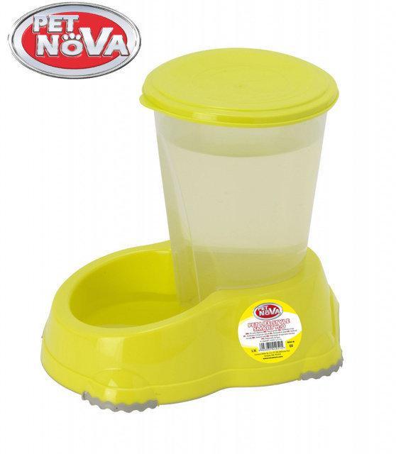 Поилка Pet Nova 3л P-SMART-H2O-3,0-YL Желтая