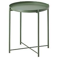 IKEA GLADOM Стол сервировочный, темно-зеленый  (103.306.70)