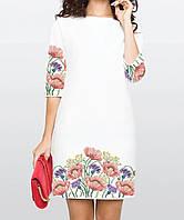 Заготовка жіночого плаття чи сукні для вишивки та вишивання бісером Бисерок  «Чарівні маки» ( 2846f8843d98c