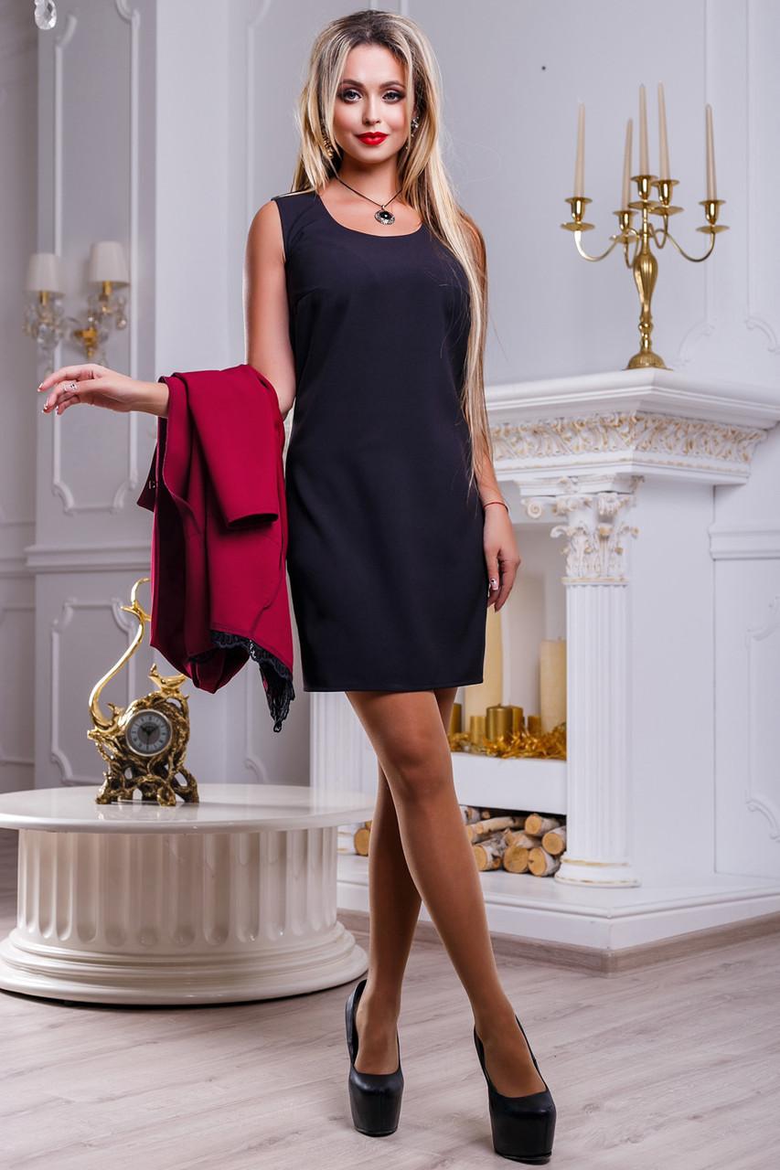 Красивое женское платье 2508 черный
