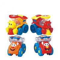 Развивающая игрушка Huile Toys Мультяшная машинка в ассортименте (706)