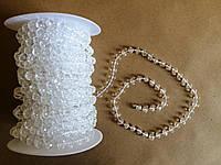 Акриловые бусинки для декора на нитке метров (7 мм.)
