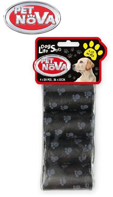 Пакеты для уборки, черные Pet Nova