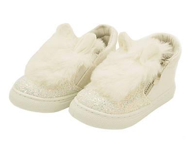 Стильные детские кеды (кроссовки) с ушками для девочек 24-34 размеры