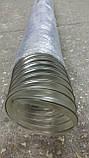 Вентиляційний шланг ПВХ 220мм 0,5 мм, гофрорукав аспіраційний, фото 2