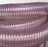 Гибкий полиуретановый шланг для аспирации d 100*0,7мм