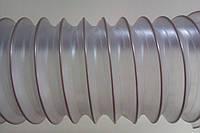 Рукава пвх для деревообробних верстатів 120 мм *0,5 мм Польша,армовані шланги від виробника,