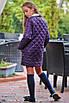 Куртка детская удлиненная на заплепках плащевка+синтепон 134,140,146,152, фото 3