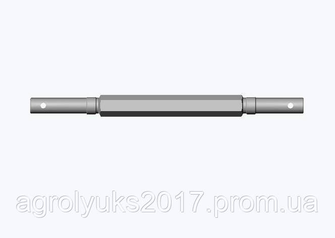 Вал ведомый СУПА 00.646 механизма передач СУПА 00.1120-01(02), фото 2