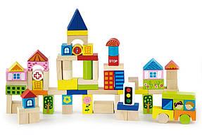 Набор строительных блоков Viga Toys Город 75 шт (50287)