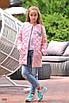 Куртка детская удлиненная на заплепках плащевка+синтепон 134,140,146,152, фото 7